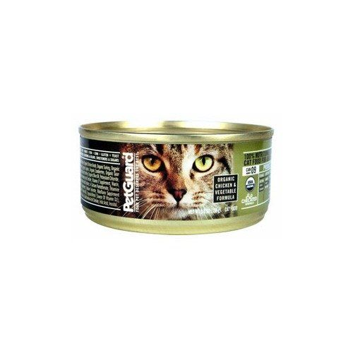 PetGuard Organic Chicken and Vegetable Entree Canned Cat Food ** Click on the image for additional details.(This is an Amazon affiliate link and I receive a commission for the sales)