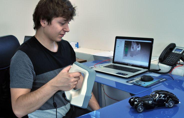 skanowanie 3D artec bugatti