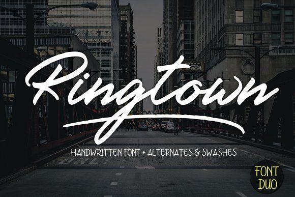 Ringtown Script by Fargun Studio on @creativemarket