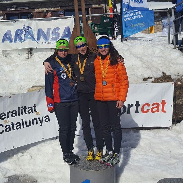 How to know if somebody was training with Bonés Skiroll on summer time? Is simple, you just need to check the podium 😀😀💪 congratulations to @etfem @_queraalt @claustremontaner2003 Campionats de Catalunya #xcski #esquidefons #esquidefondo #campionats #rollerski #bonesskiroll #etfem