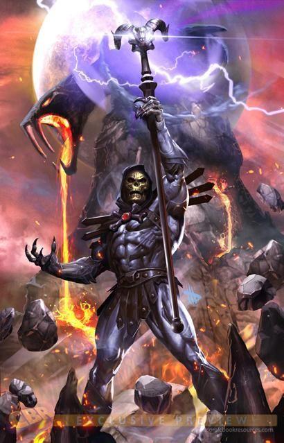 Variant-Cover Artwork von Nr.1 der neuen Masters Comicserie