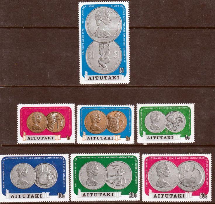 Aitutaki William Bligh's Discovery of Aitutaki Set Fine Mint SG 114/9 Scott 96/101a  Other Aitutaki Stamps HERE