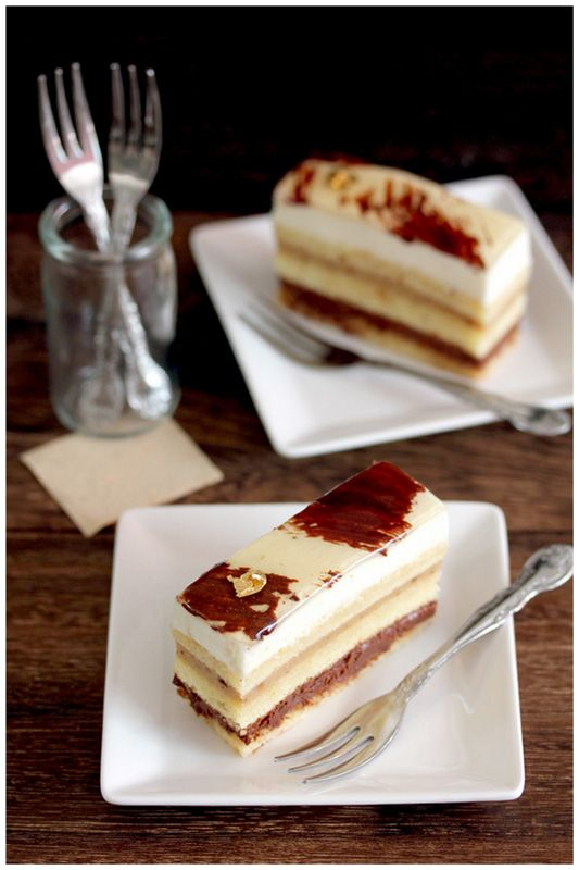 Banana, Rum and Orange Chocolate Mousse Cake ... Talk about Flavor Explosion!!!!