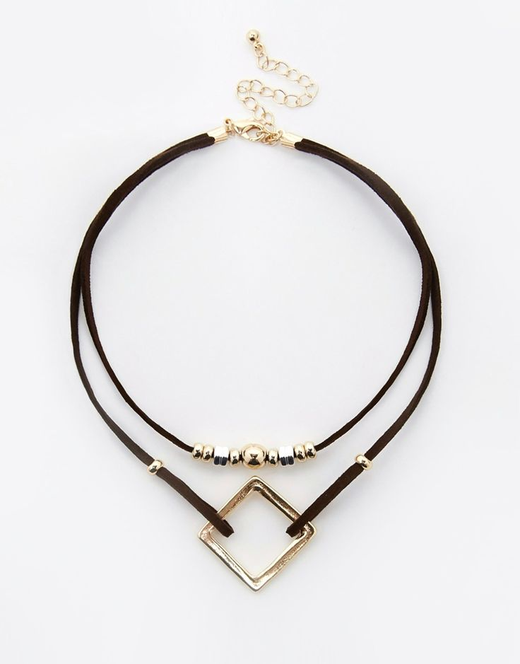 ASOS Open Shapes Choker Necklace