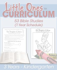 Free Bible Curriculum: 325 Bible Studies (Grades PreK-6th)