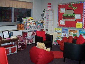School counselor office setup