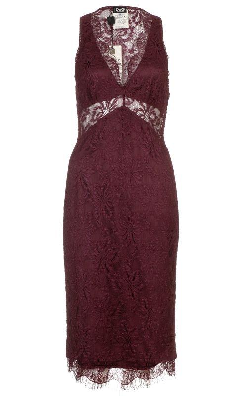 Dolce&Gabbana lace midi dress