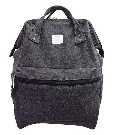 Look what I found on #zulily! Dark Gray Wire-Frame Backpack #zulilyfinds