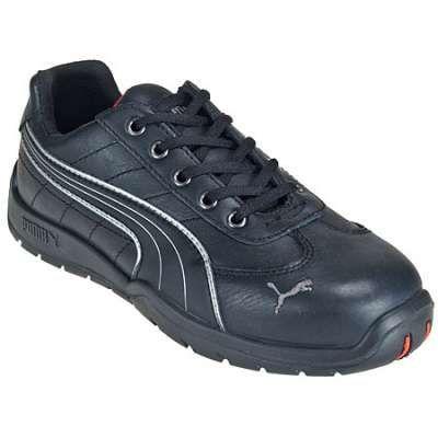 Puma Shoes: Men's 64.262.5 Steel Toe Heat-Resistant Black Slip-Resistant Shoes - Steel Toe Tennis Shoes - Men's Steel Toe Shoes - Footwear