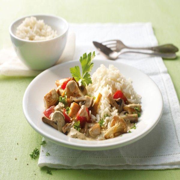 Paddenstoelschotel met kip | Weight Watchers België