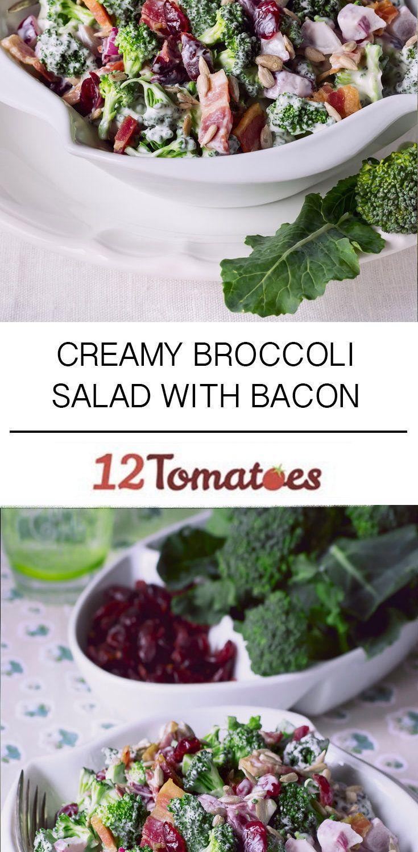 Creamy Broccoli Salad Make sure your bacon is gluten free.