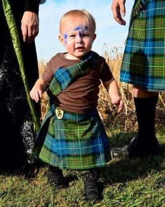 A wee Celtic Warrior