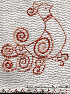 Italian Needlework: November 2010