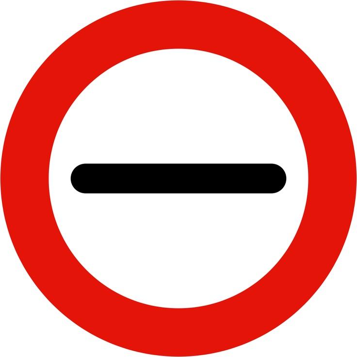 Prohibido pasar sin detenerse (r200) autoescuela villa de aviles