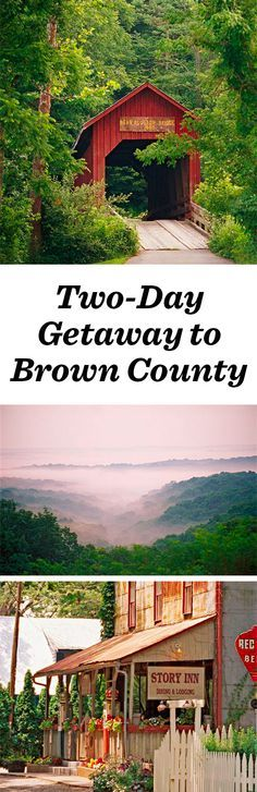 In addition to a significant art scene, Nashville, Indiana, has cool boutiques, classy inns and tree-filled vistas, all part of Brown County#nashvilleindiana #indiana #browncounty