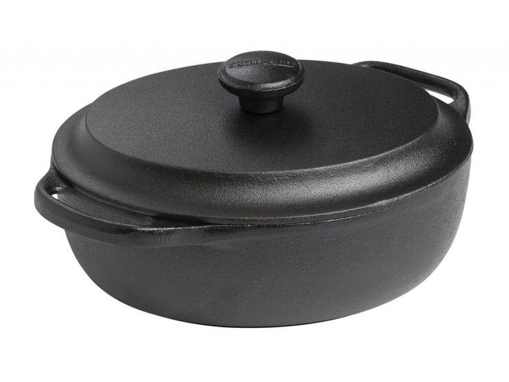 Skutečně kvalitní litinový hrnec vhodný na vaření od švédského výrobce SKEPPSHULT o objemu 2l / 5000