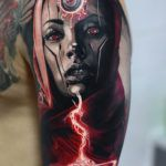 Amazing Realistic Color Tattoo ///  Erstaunliche Realistische Farbe Tattoo ///  Tatouage réaliste de couleur étonnant ///  Incredibile Tattoo colori realistici