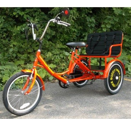 Buddy Trike 2 Passenger 6 Speed Tricycle Bikes And