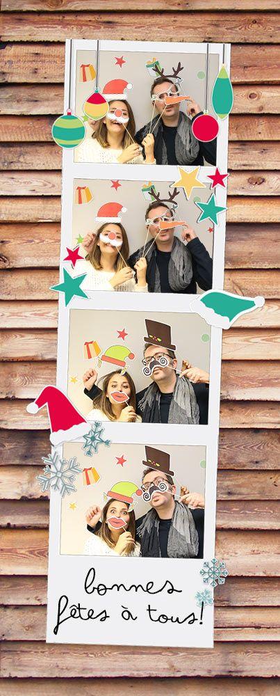 Une super activité pour cette fête de fin d'année, quoi de mieux qu'une séance de Photobooth ! Il s'agit de poser ensemble avec plein d'accessoires rigolos ! Parce que forcement, avec toute la famille et les amis que vous allez voir pendant les fêtes, vous aurez droit à la traditionnelle photo de famille. Alors, prenez …