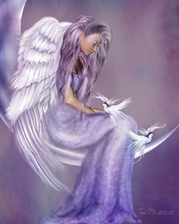 Engelen leggen veertjes voor ons weg op plaatsen w…