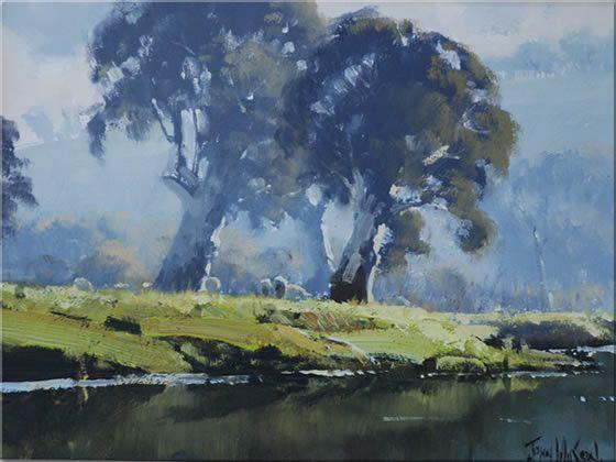 Landscapes by Australian Artist John Wilson.