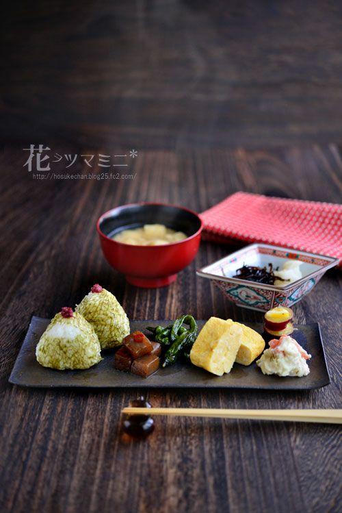 日本人のごはん/お弁当 Japanese meals/Bento 花ヲツマミニ