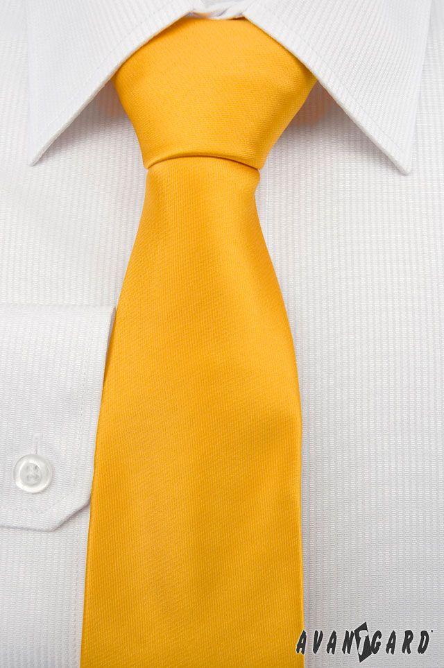 Oranžová kravata Avantgard. Duhové kravaty značky Avantgard / Rainbow inspiration, colours, Avantgard, ties, mens accessories, mens fashion, tie, orange
