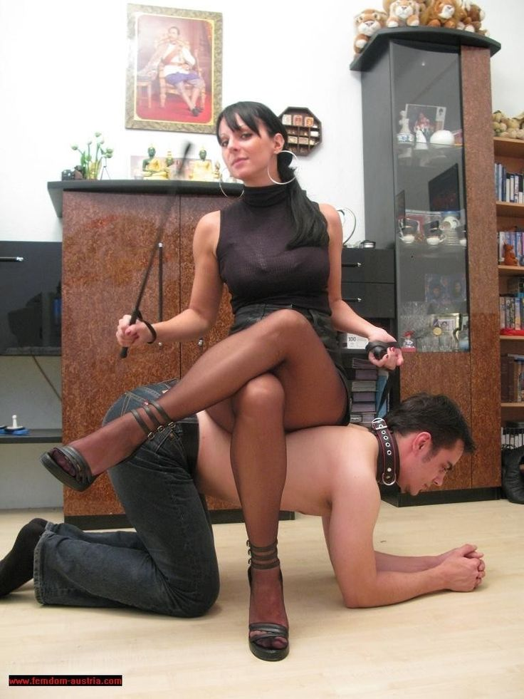 Female domination pet play