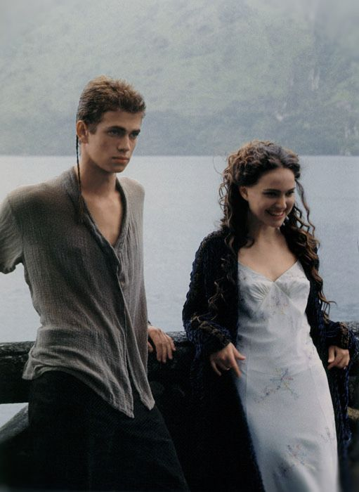 Anakin and Padme Image edit, by Brianna