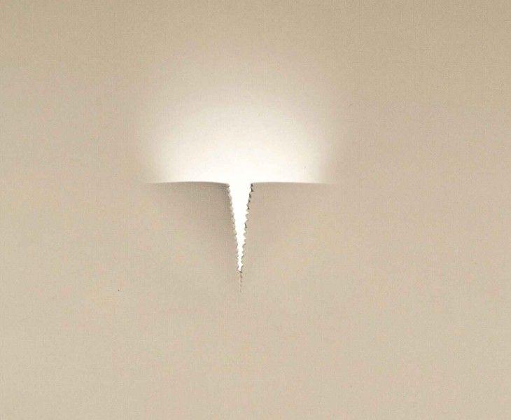 2371 FARETTO DA INCASSO A LED IN GESSO Faretti da incasso a LED  LAMPADE  Pinterest  Public ...