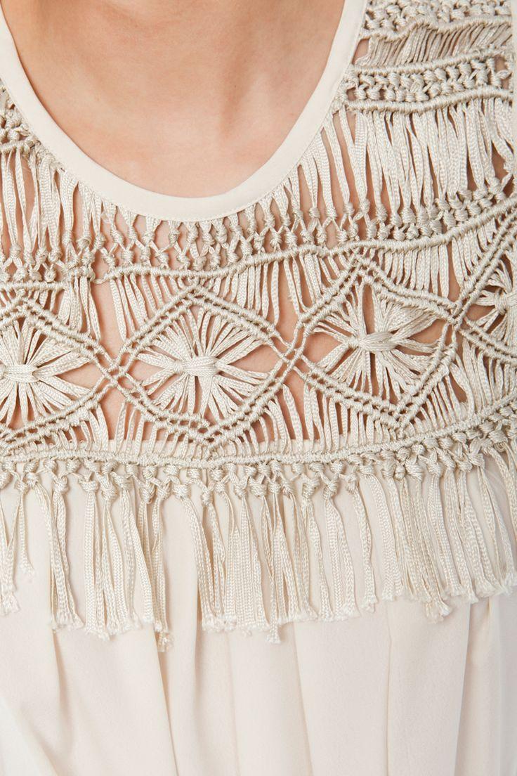 Vestido canesu macrame - Colección - Niza