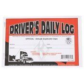 "Driver's Daily Log Book with Simplified DVIR by US Cargo Control. $2.99. Includes monthly summary sheets and 7- and 8-day recap sheets to help drivers quickly determine hours. Also features simplified Driver Vehicle Inspection Report (DVIR). Book format with 31 sets of 2-ply carbon forms per book.31 sets of 2-ply carbon forms 8.5""x5.5""Full Case Quantity = 100 Log Books Call for Discounts on Full Case Quantities 1-."