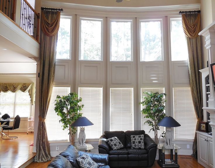 17 best images about our window treatments on pinterest for 2 story window treatments