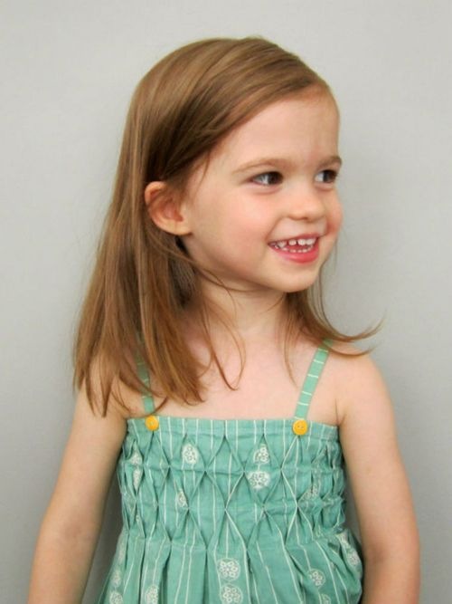 Honeycomb Smocked Sundress | by An from Straight Grain for Sew Mama Sew |