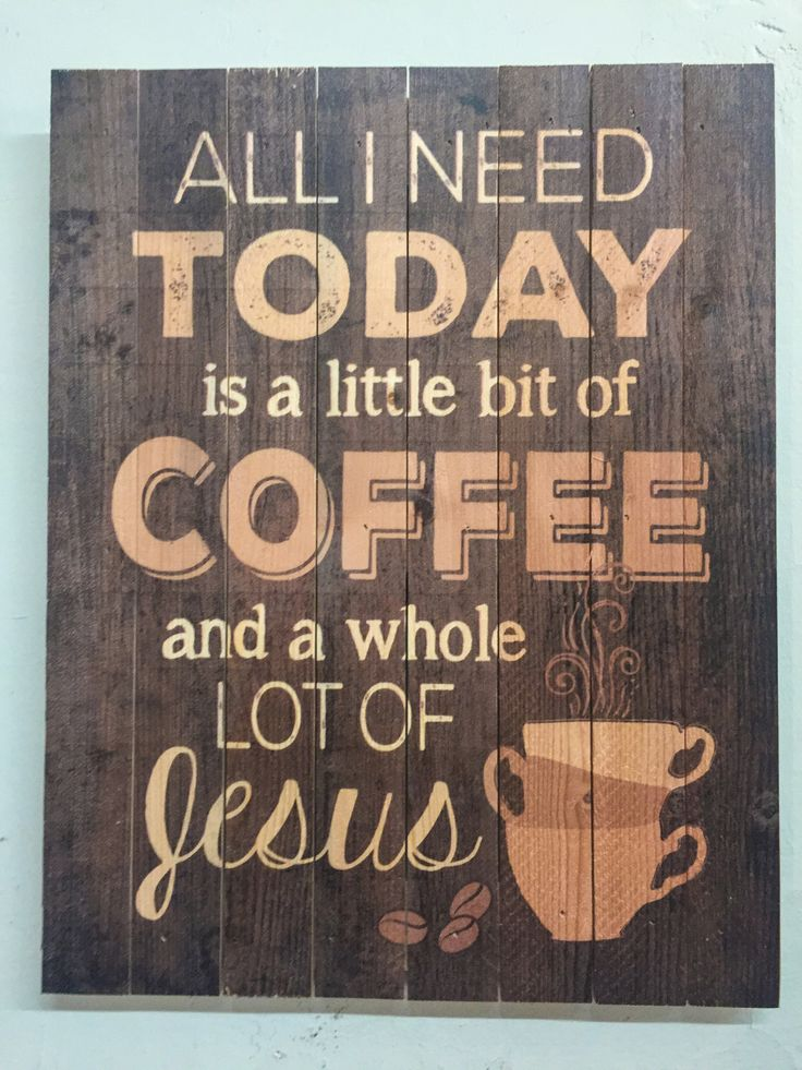 Lots Of Jesus Coffee Sign Funny Home Decor Diy Crafts
