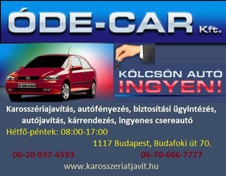 Karosszéria javítás, autófényezés, biztosítási ügyintézés, Budapest, XI. [Pepita Hirdető]