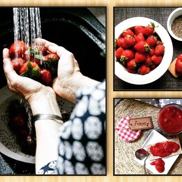 Confiture sans cuisson aux graines de chia