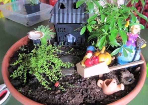 Gnome Garden: 138 Best Images About Fabulous Fairy Gardens On Pinterest