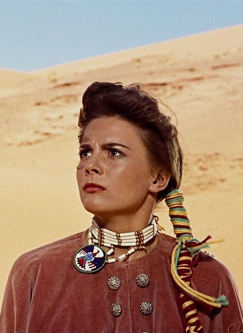 """Natalie Wood in """"The Searchers"""""""