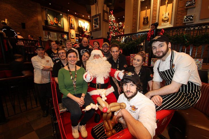 December: Who can forget jolly old St. Nic? December marked four more 'Breakfast with Santa' events with the man himself. You can book now for all our 2016 'Breakfast with' events by calling 0161 831 6700 or emailing manchester_salescoord@hardrock.com! #ThisIsHardRock