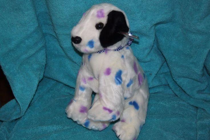 Ty Large Plush Beanie Buddy Dizzy the Dalmatian Buddies  MWMT #TyPlush