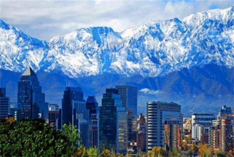 Santiago, Chile's capital, spreads between the Andes and the coastal range, streches between the Rio Mapocho and the Rio Maipo, and within these natural boundaries, offers a number of scenic, cultural and historical attractions easily seen in a few days.