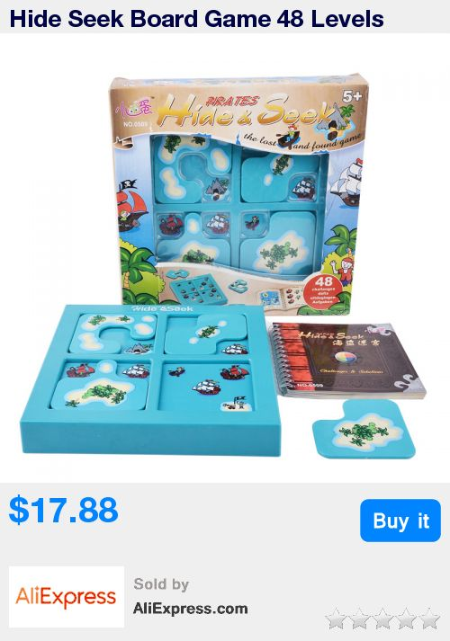 Hide Seek Board Game 48 Levels Funny Puzzle Game For Children Environmental  ABS Plastic With  Free Shipping * Pub Date: 11:29 Apr 24 2017