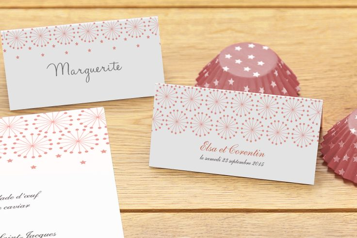 marque place mariage Hollywood by Mr & Mrs Clynk pour www.fairepart.fr #wedding #weddingtable #placecard