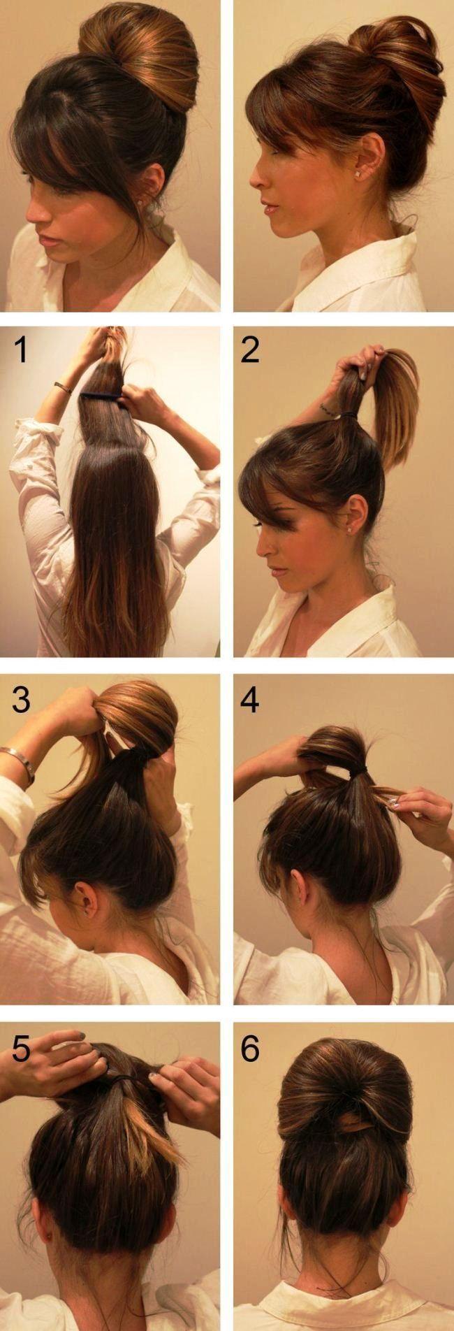 Einfache Party-Frisuren für lange Haare Tutorials Schritt für Schritt 2019 #pa - #einfache #Stile #Haar #Lange