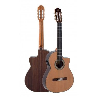 Admira VIRTUOSO ECT-F Electro Classical guitar Thin body