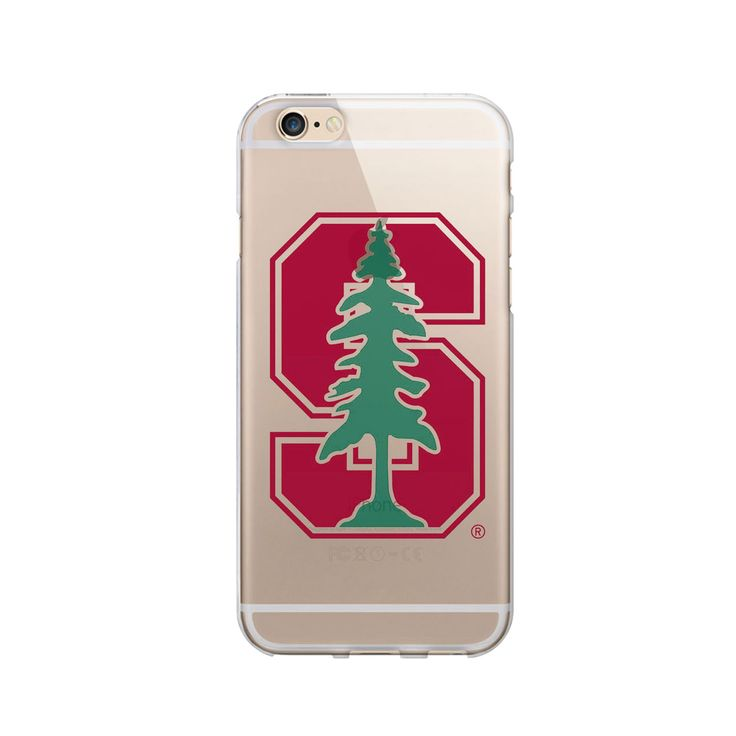 Stanford University Clear Phone Case, Classic V1