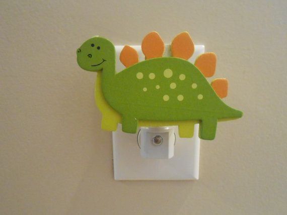 Dinosaur Night Light  Night Light  Dinosaur  by LaurenAnnaLei, $11.00