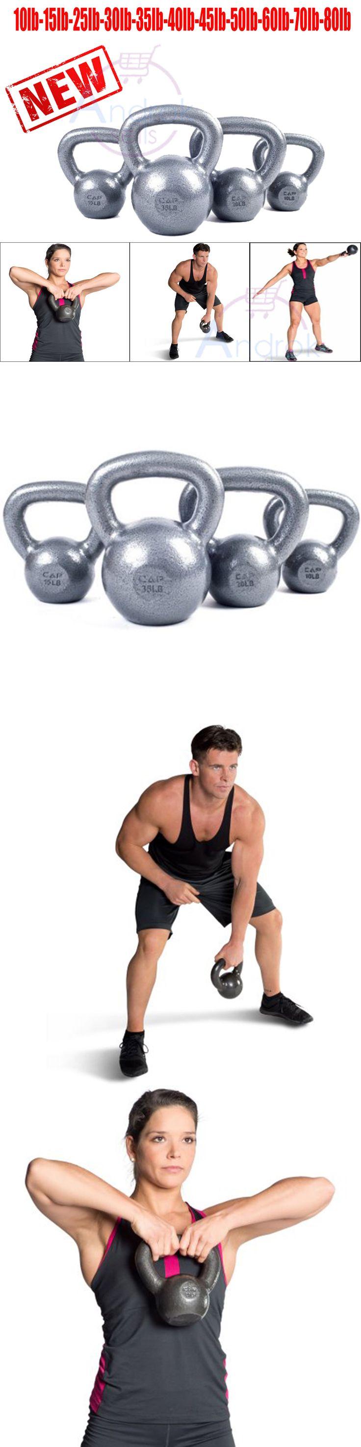 Kettlebells 179814: Cap Barbell Kettlebell Cast Iron Weight Lift Workout Gym Fitness Hand Olympic -> BUY IT NOW ONLY: $59.99 on eBay! https://www.kettlebellmaniac.com/shop/