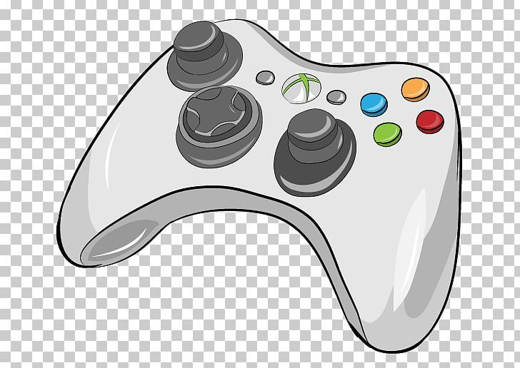 Black Xbox 360 Controller Xbox One Controller Game Controllers Png Black Drawing Electronic Dev Game Controller Art Xbox One Controller Xbox 360 Controller
